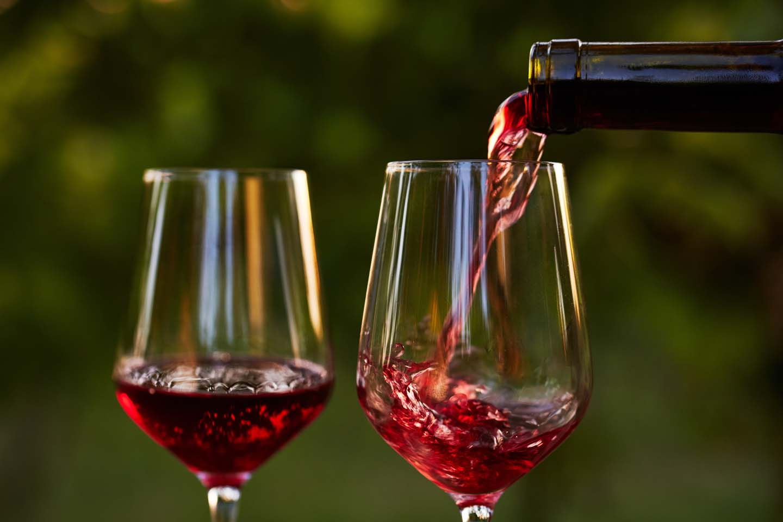 due calici di vino