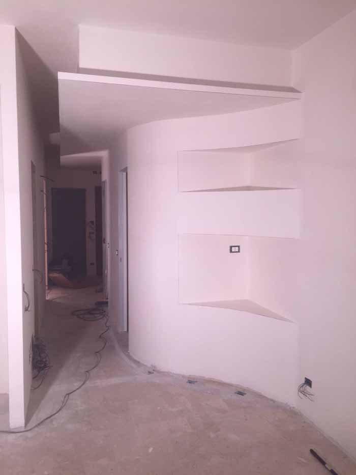 appartamento in costruzione
