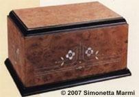 urna radica intarsiata