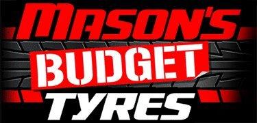 masons budget tyres logo