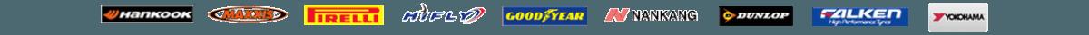 masons budget tyres brand logos