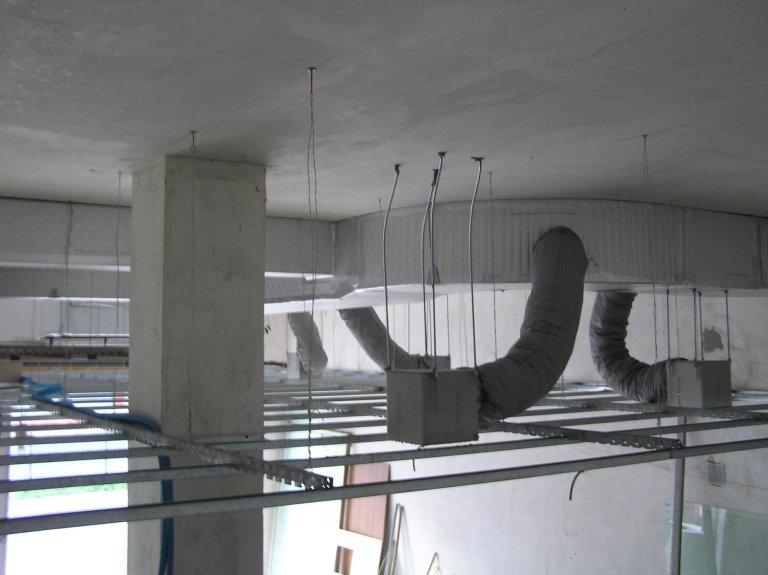 impianto di canalizzazione dell