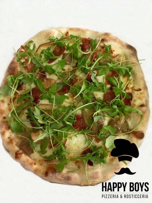 pizza con bresaola, pizza ai funghi