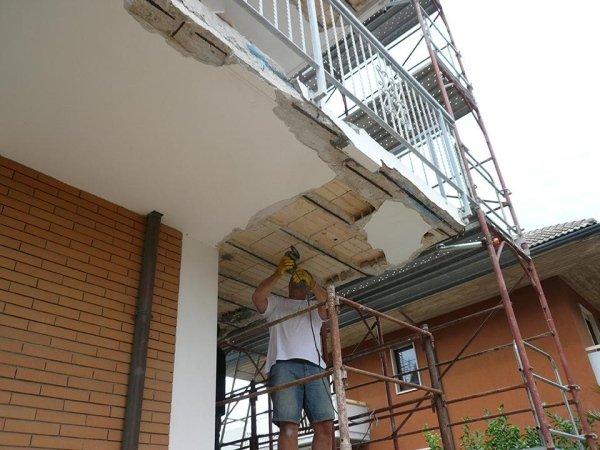 Ripristino balcone