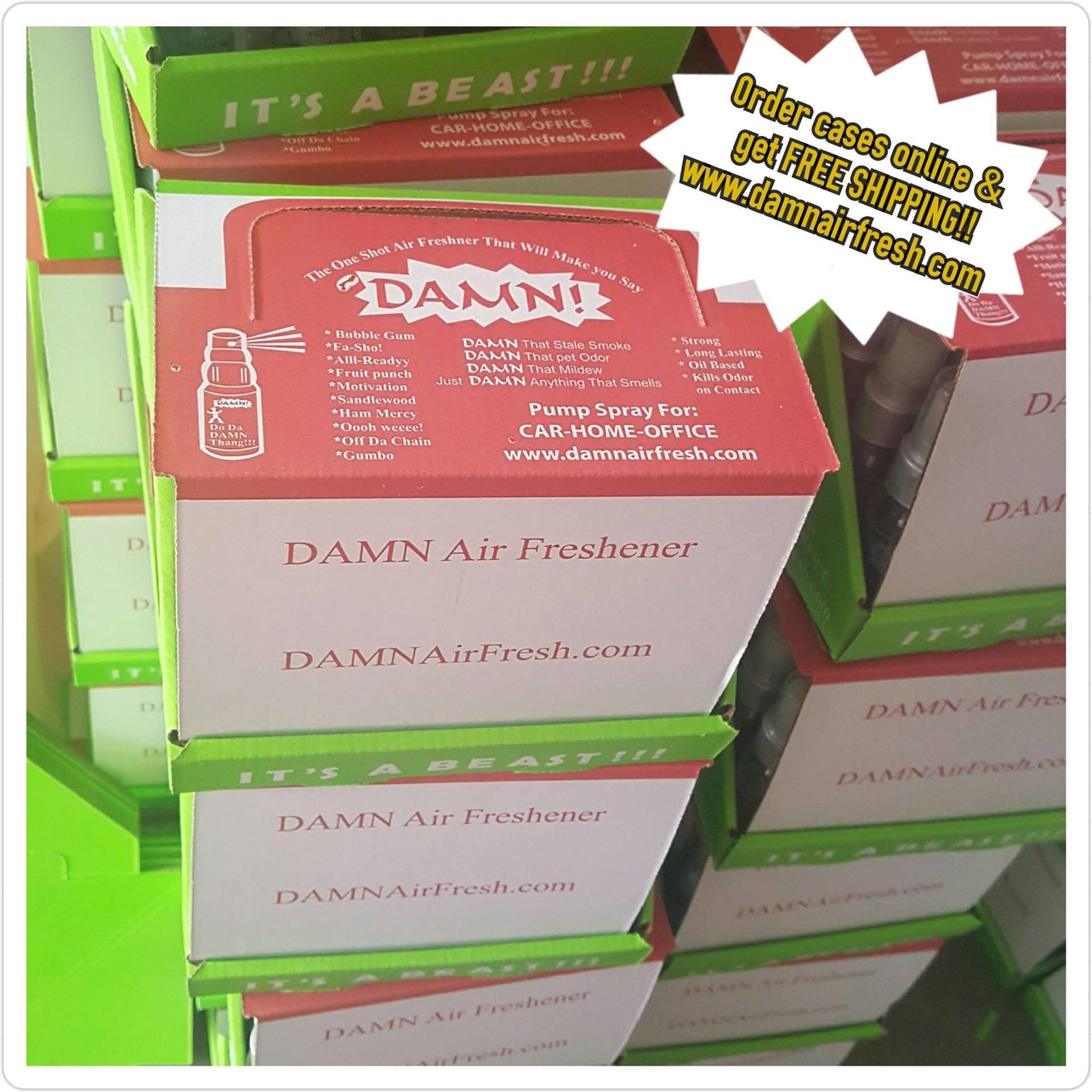Damn Air Freshener 24 pack