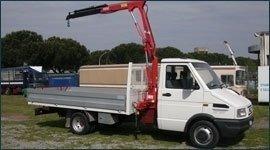 modifica furgone da lavoro