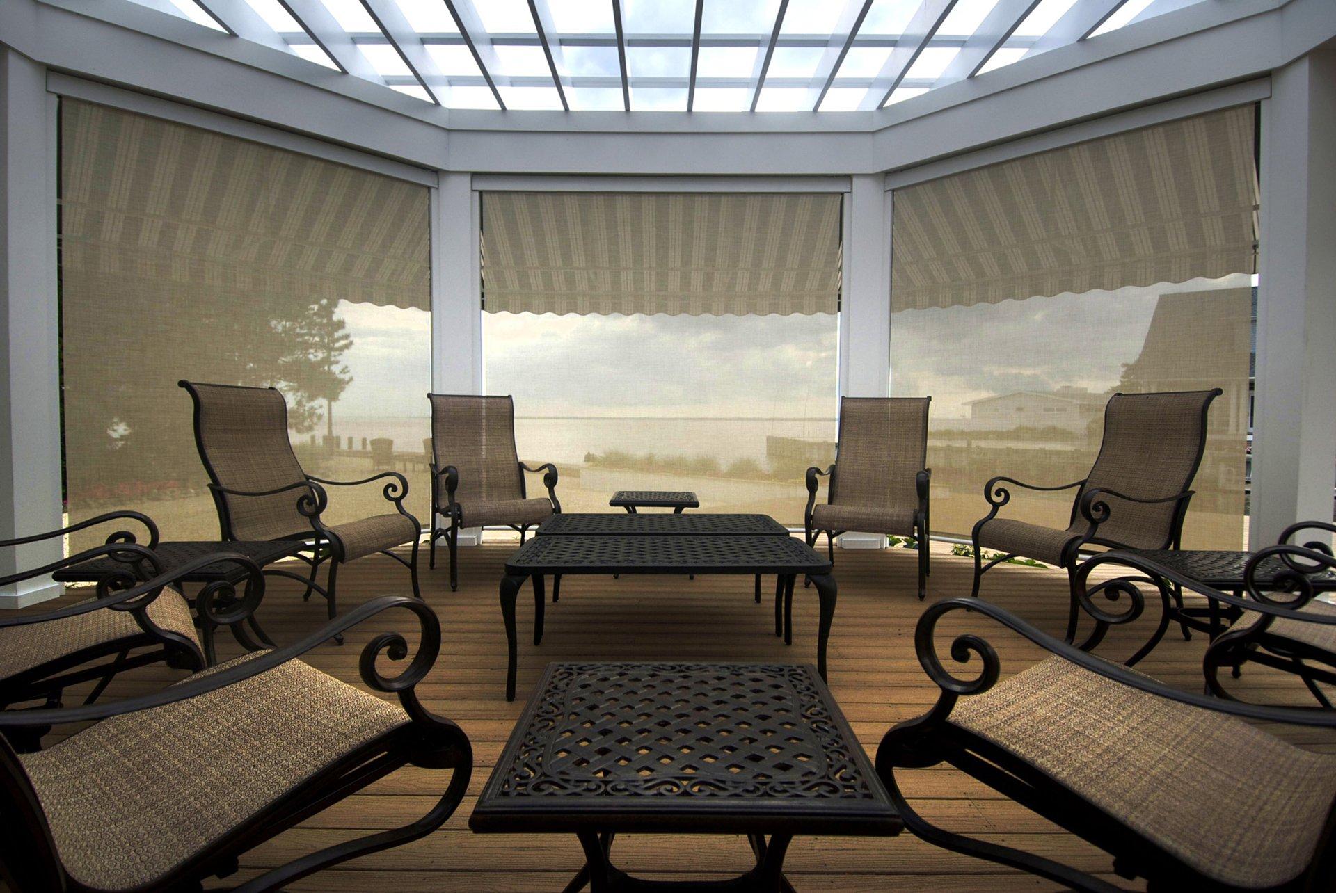 All season sunrooms erie pa basement remodeling for Bella retractable screen door
