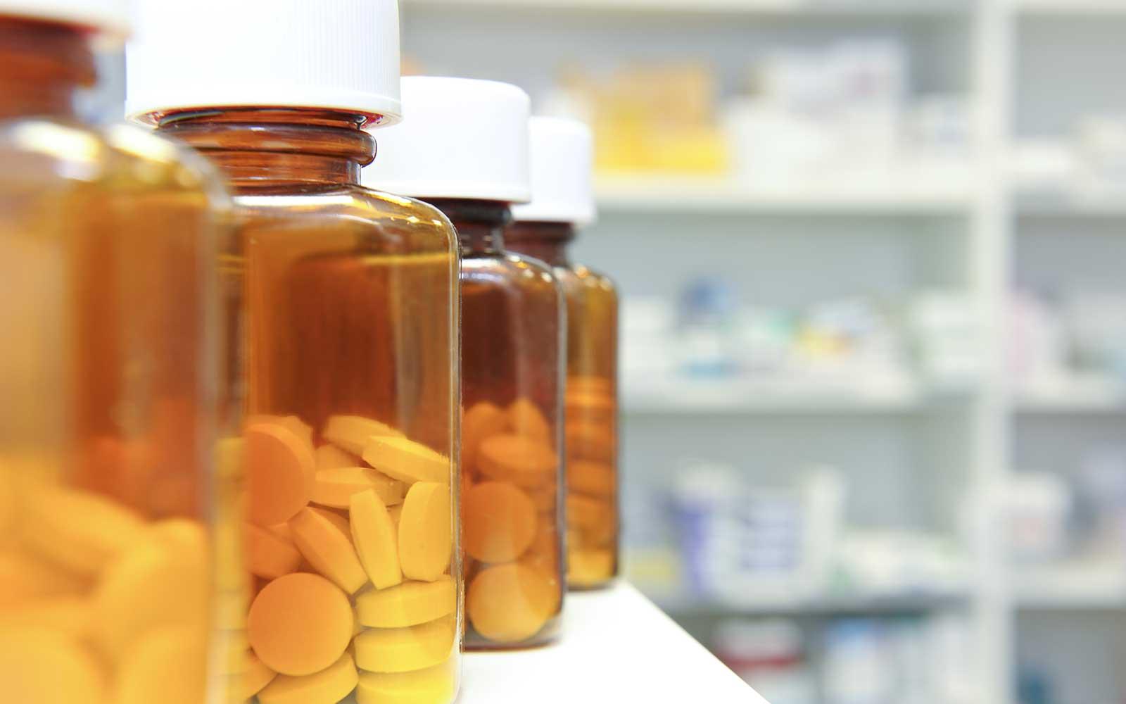 Vasetti di vetro per medicinali