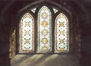 Three Stained Glass