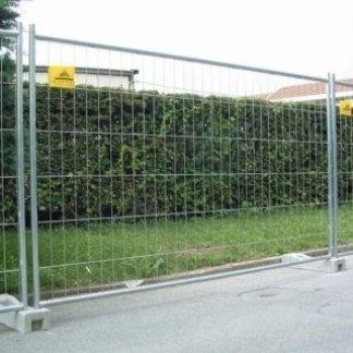 noleggio barriere di recinzione