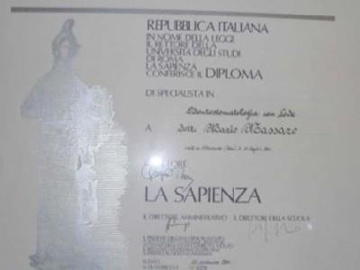 Certificazioni mediche Massaro Mario
