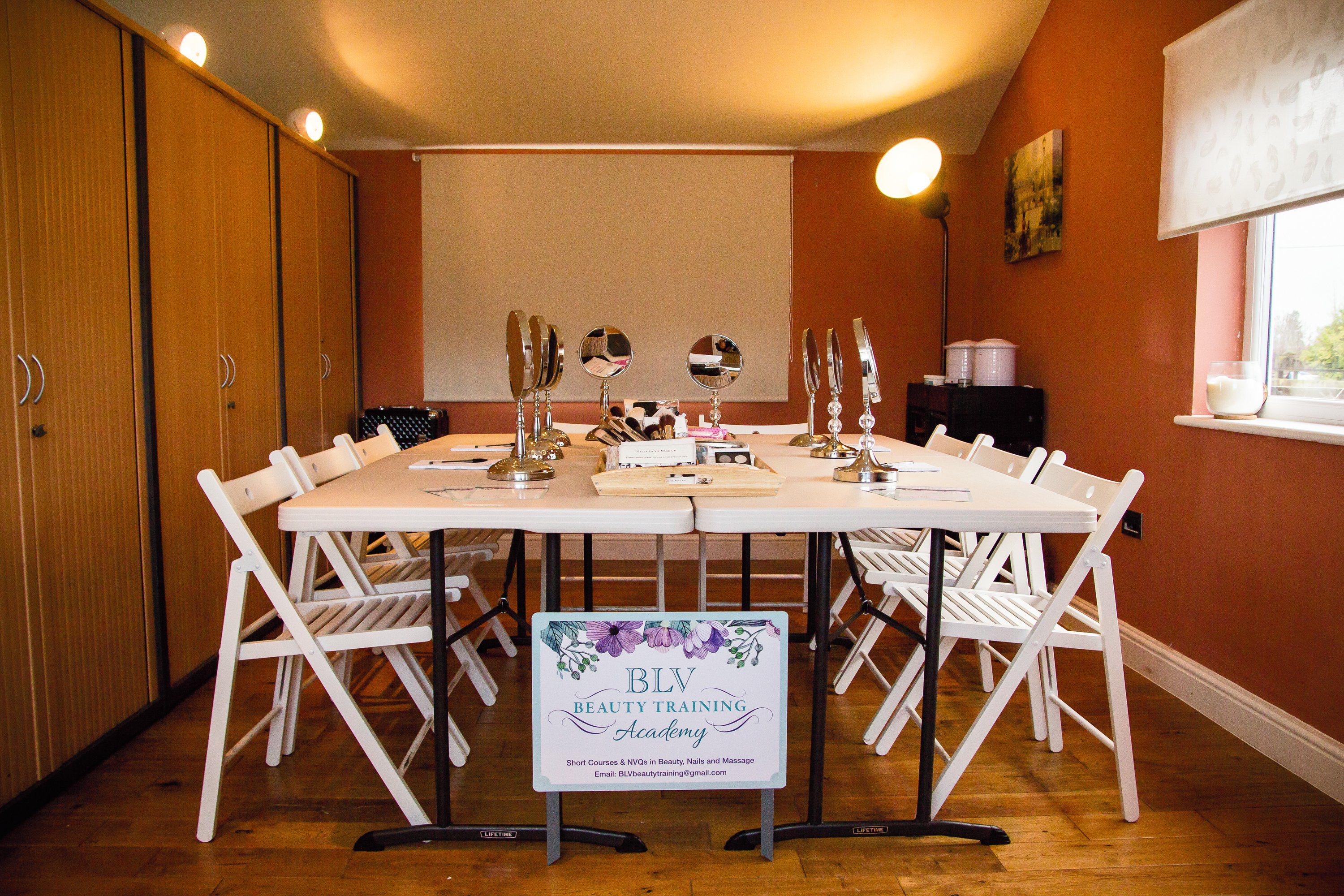 Image Of A Training Room Used For Beauty Courses