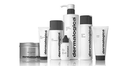 Image of several Dermalogica skin care products