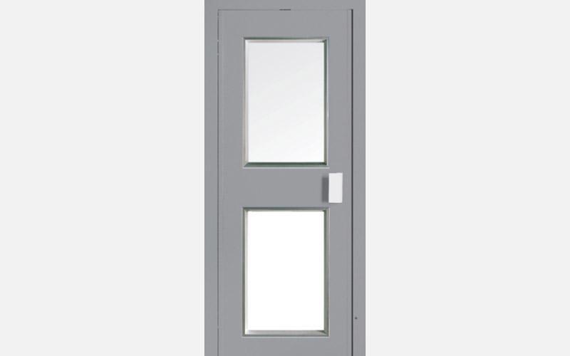 porta ascensore vetrata