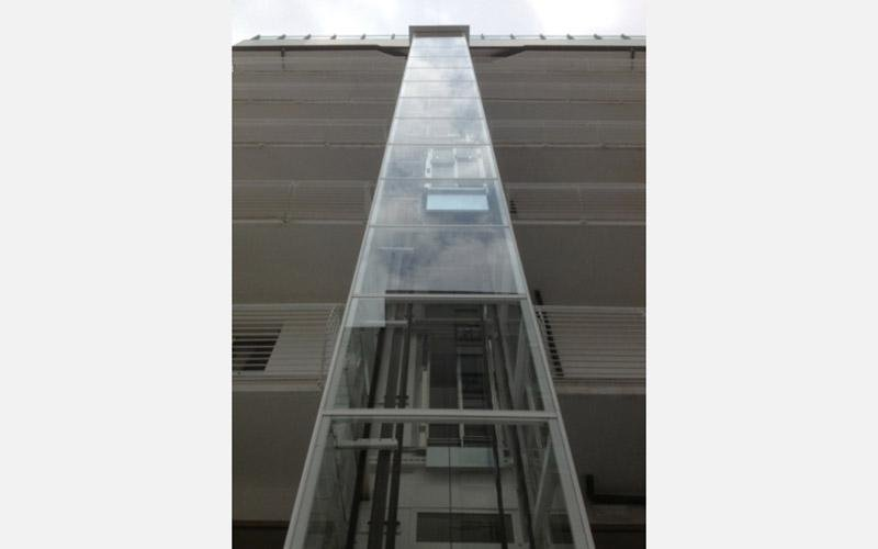realizzazione ascensori hotel universal