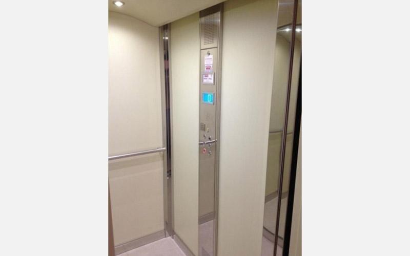 interno cabina ascensore su misura