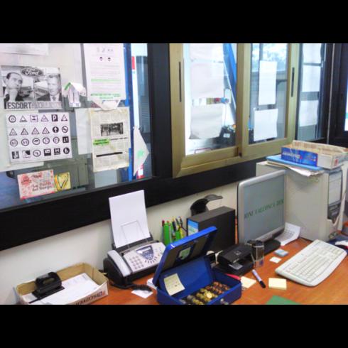 Ufficio di una officina auto