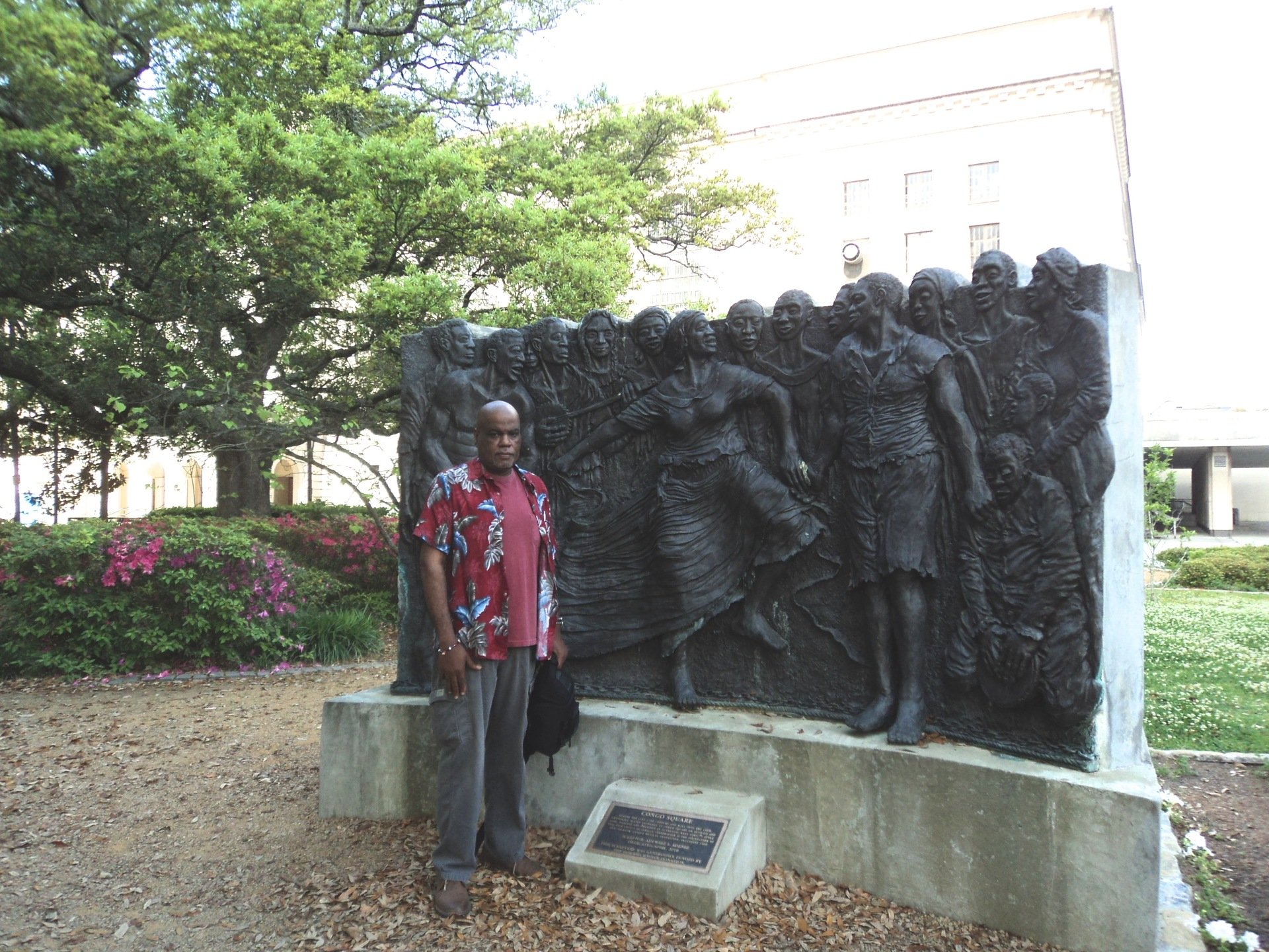 VISITING CONGO SQUARE IN NEW ORLEANS