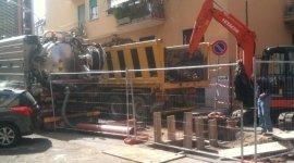 trasporto cisterne, posa fognature, trasporto rifiuti