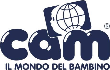 Logo della marca Cam-il mondo dil bambino