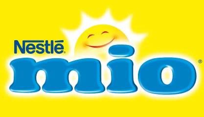 Logo della marca Nestle mio