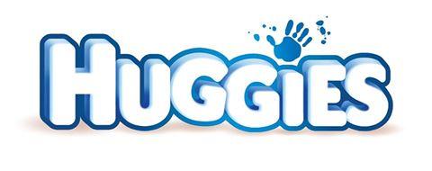 Logo della marca Huggies