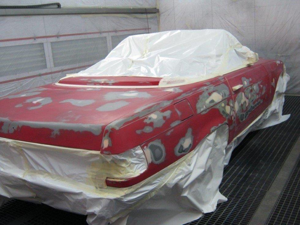 Restauro Mercedes d'epoca