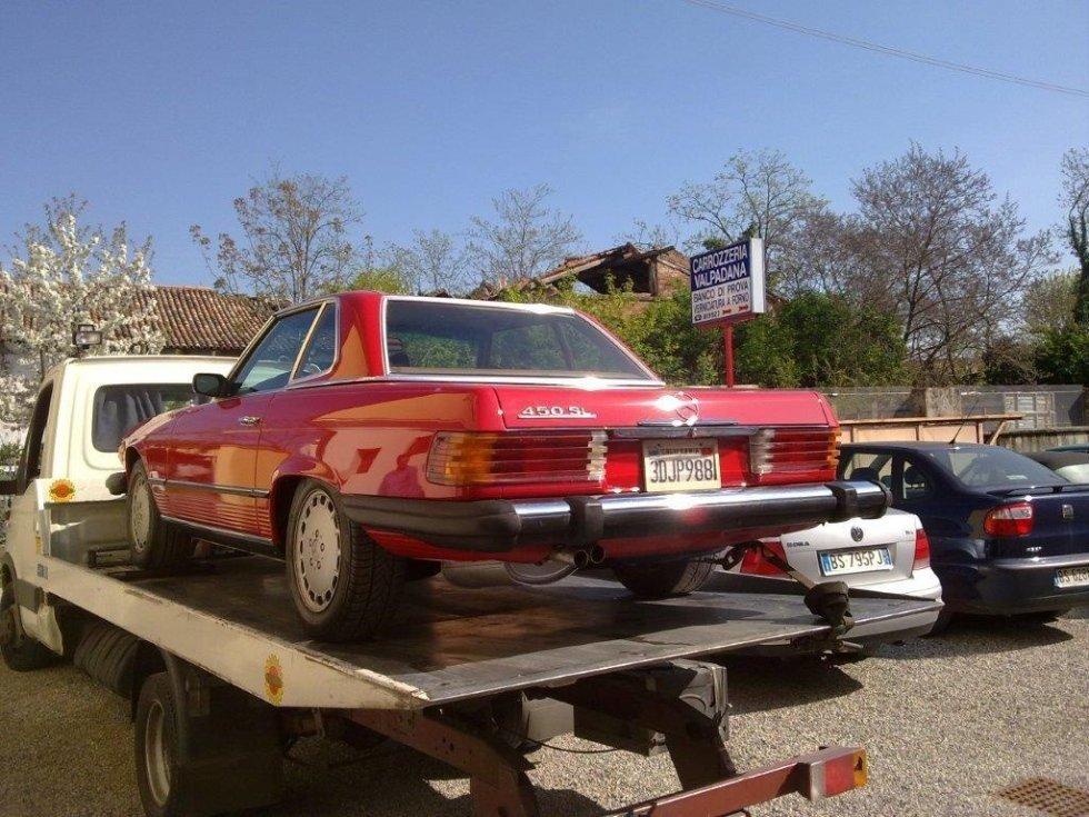 Mercedes d'epoca restaurata