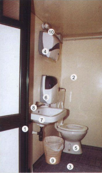 sanitari bagno mobile