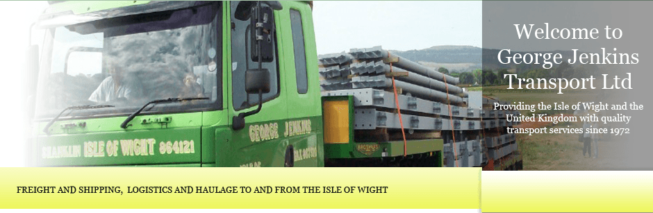 Freight Services, Shipping, Isle of Wight, Sandown, George Jenkins Transport