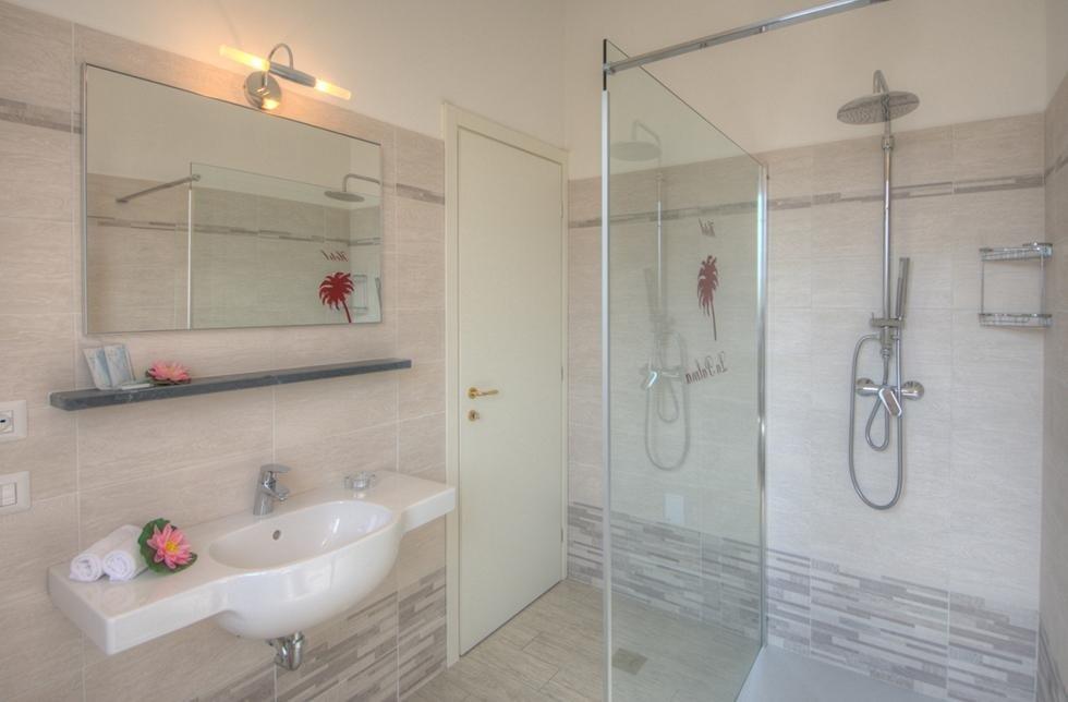 camera hotel con bagno