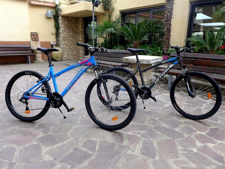 noleggio biciclette da uomo e donna