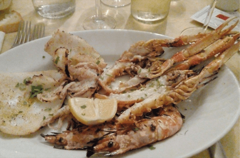 Frittura di Pesce - Ristorante Il cavaliere - Orbetello