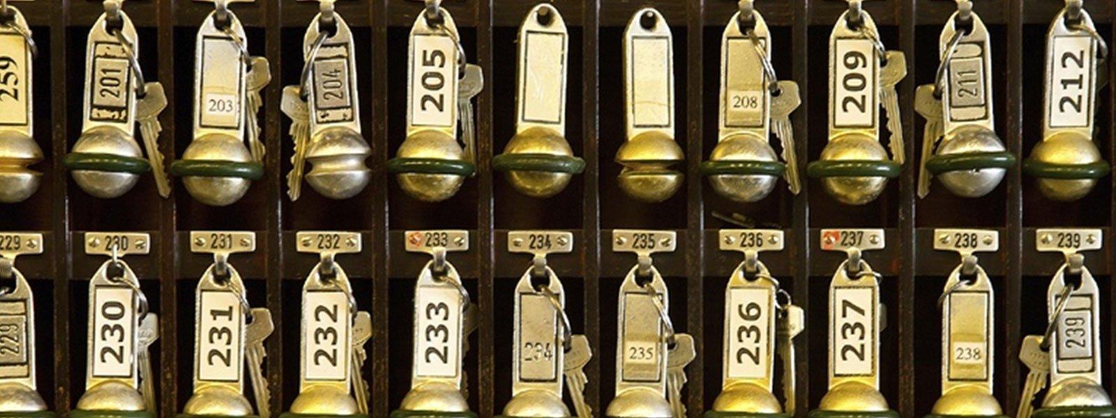 Le chiave delle camere