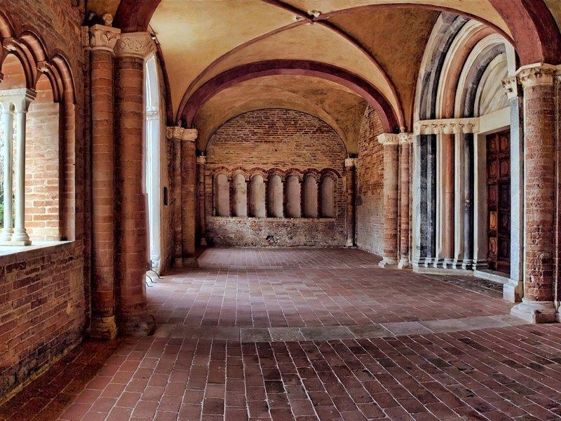 Caldarola Sala del Castello di Pallotta