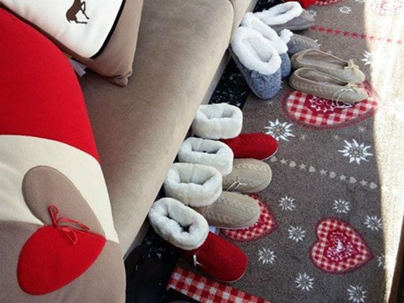 coperte e pantofole
