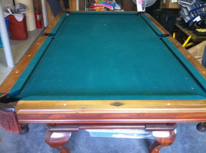 Pool Table ReFelt AK Pool Tables LLC - How to refelt a pool table