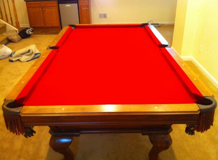 Great Pool Table Re Felt
