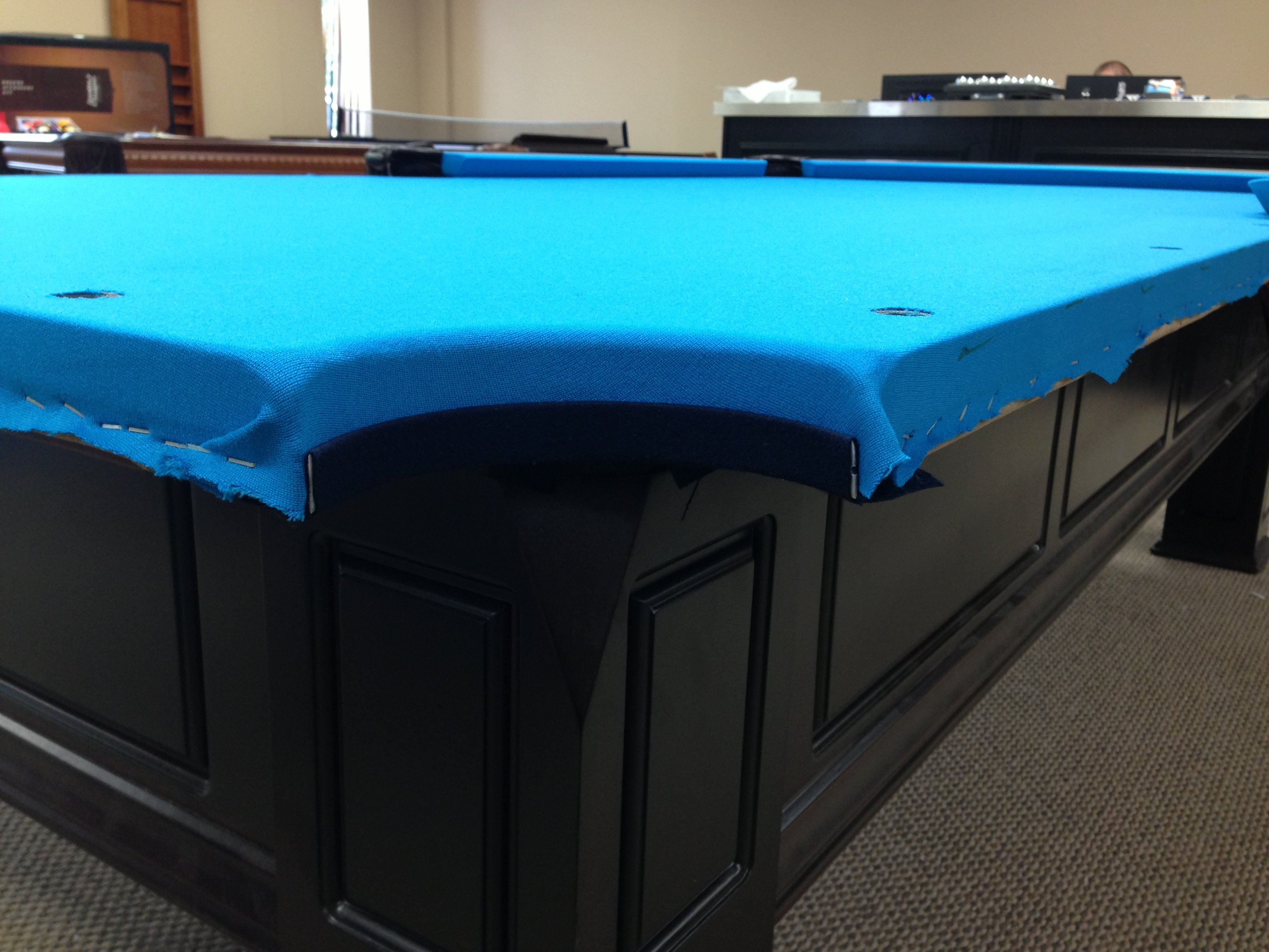 Pool Table ReFelt AK Pool Tables LLC - How to put felt on a pool table