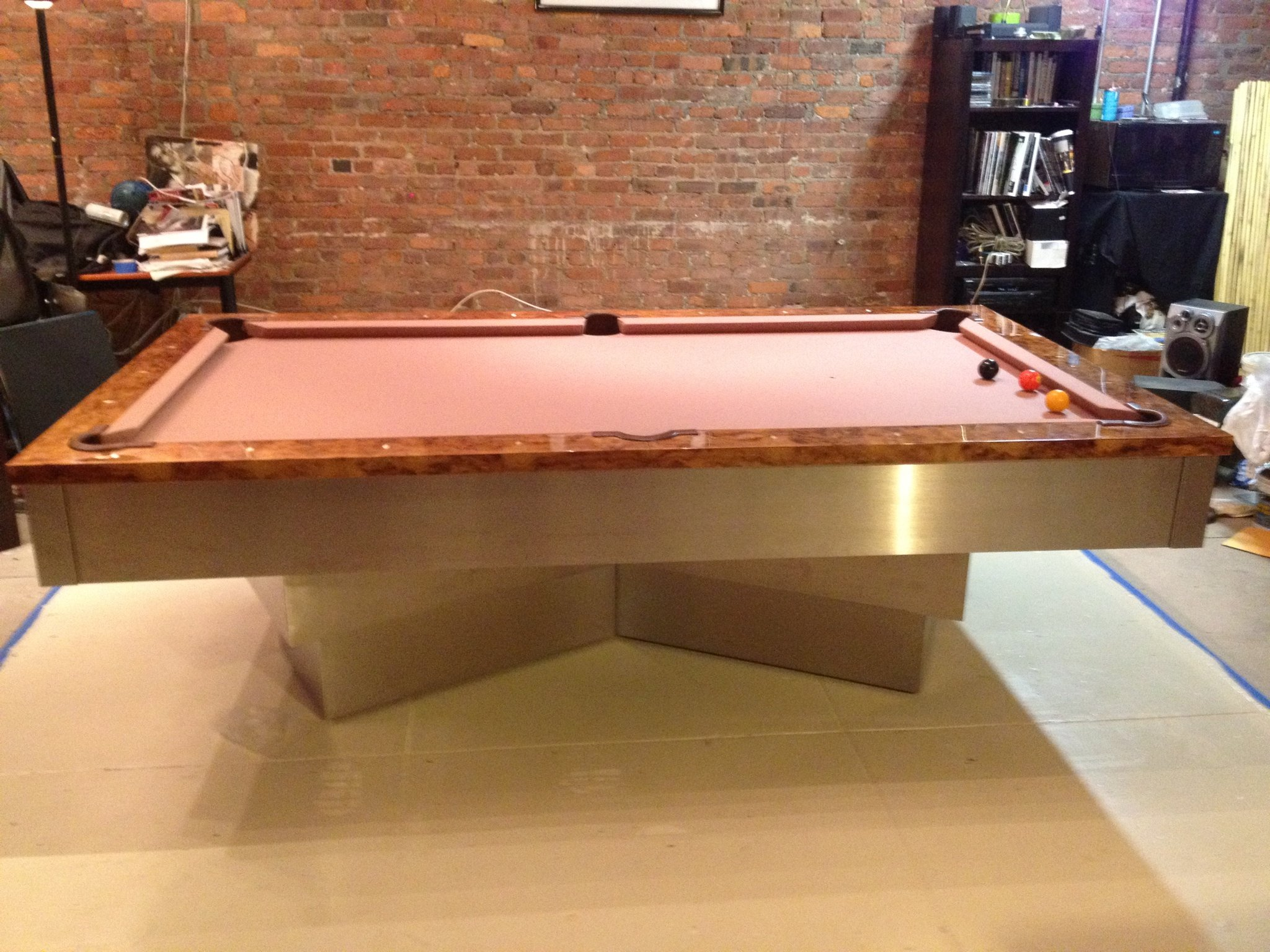 ultimate indoor media id may facebook ultimatebilliardservice movers home pool table billiard contain service image