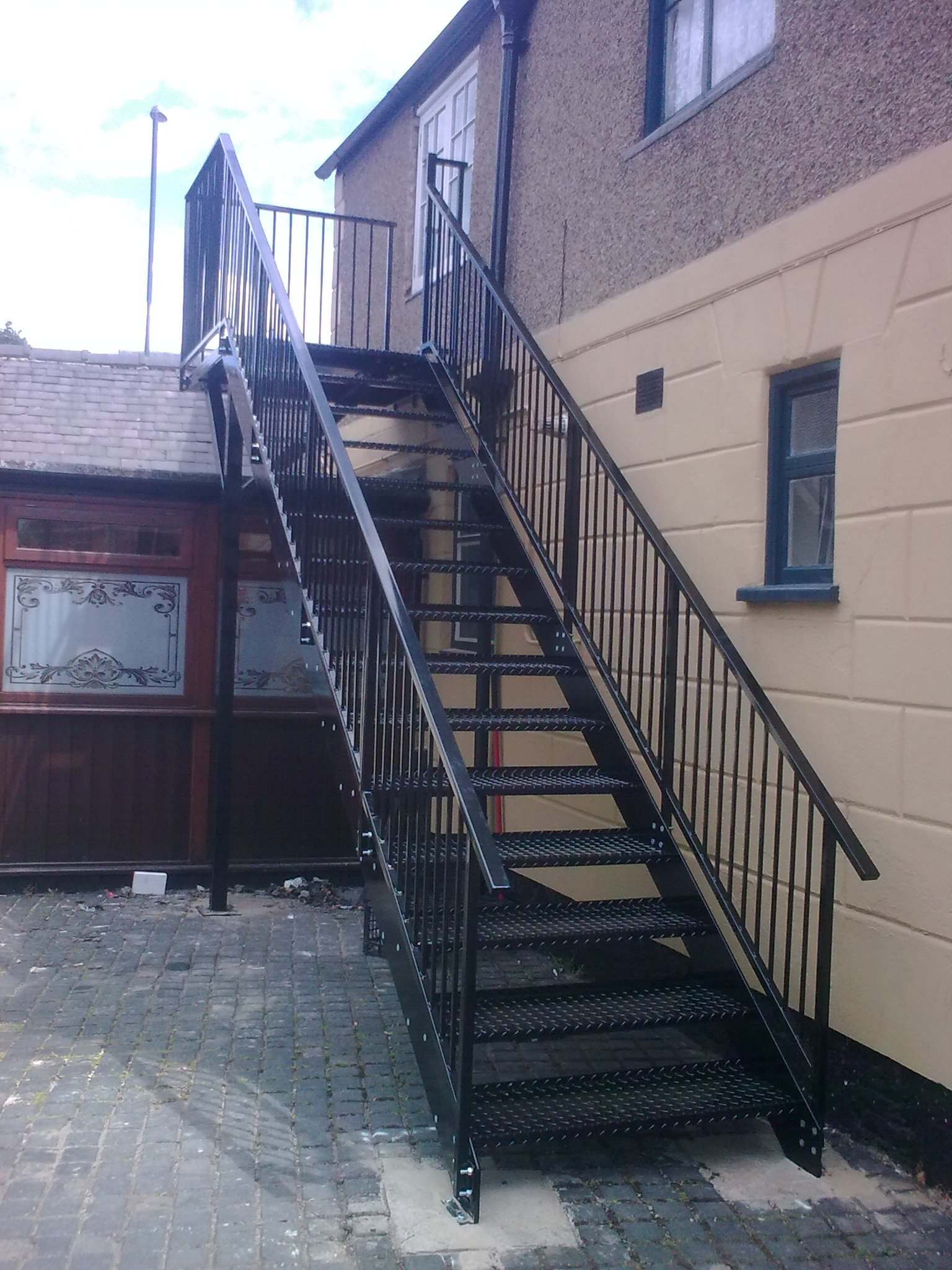 Gentil Metal Stairs And Fire Escapes