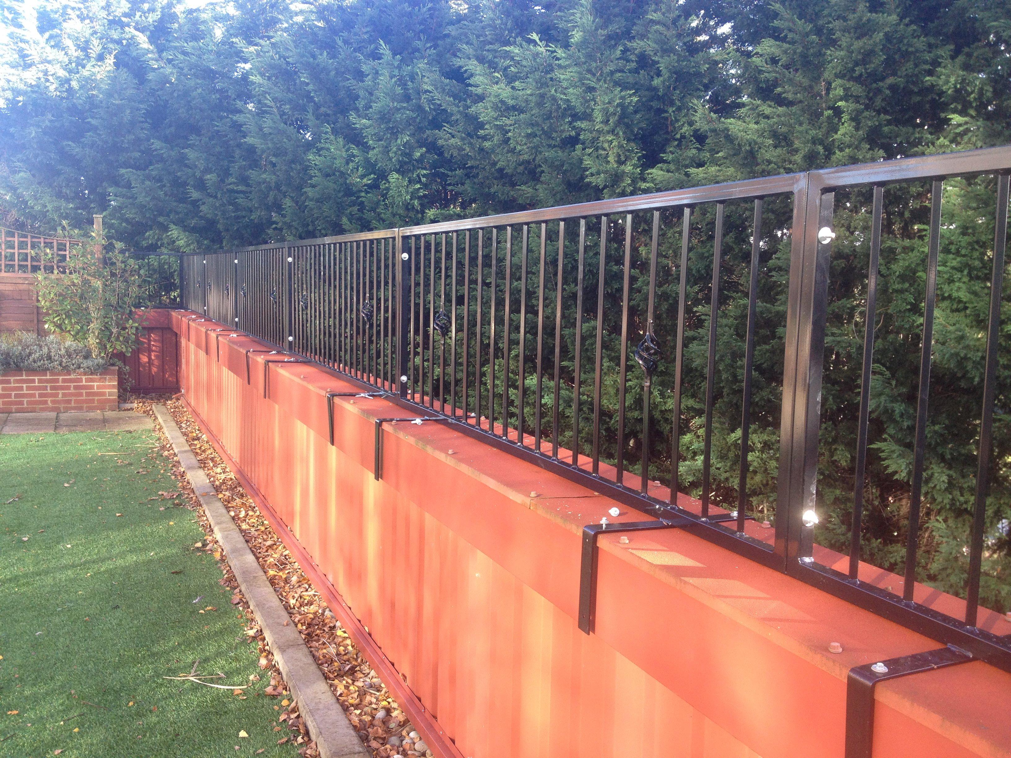 compound railings