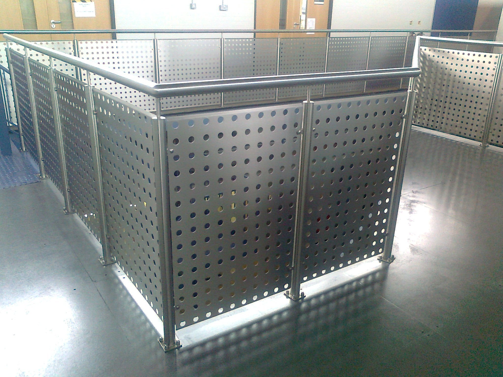 aluminium railings