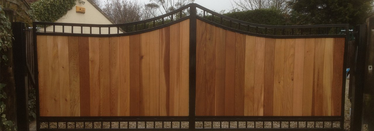 wooden gate fabrication