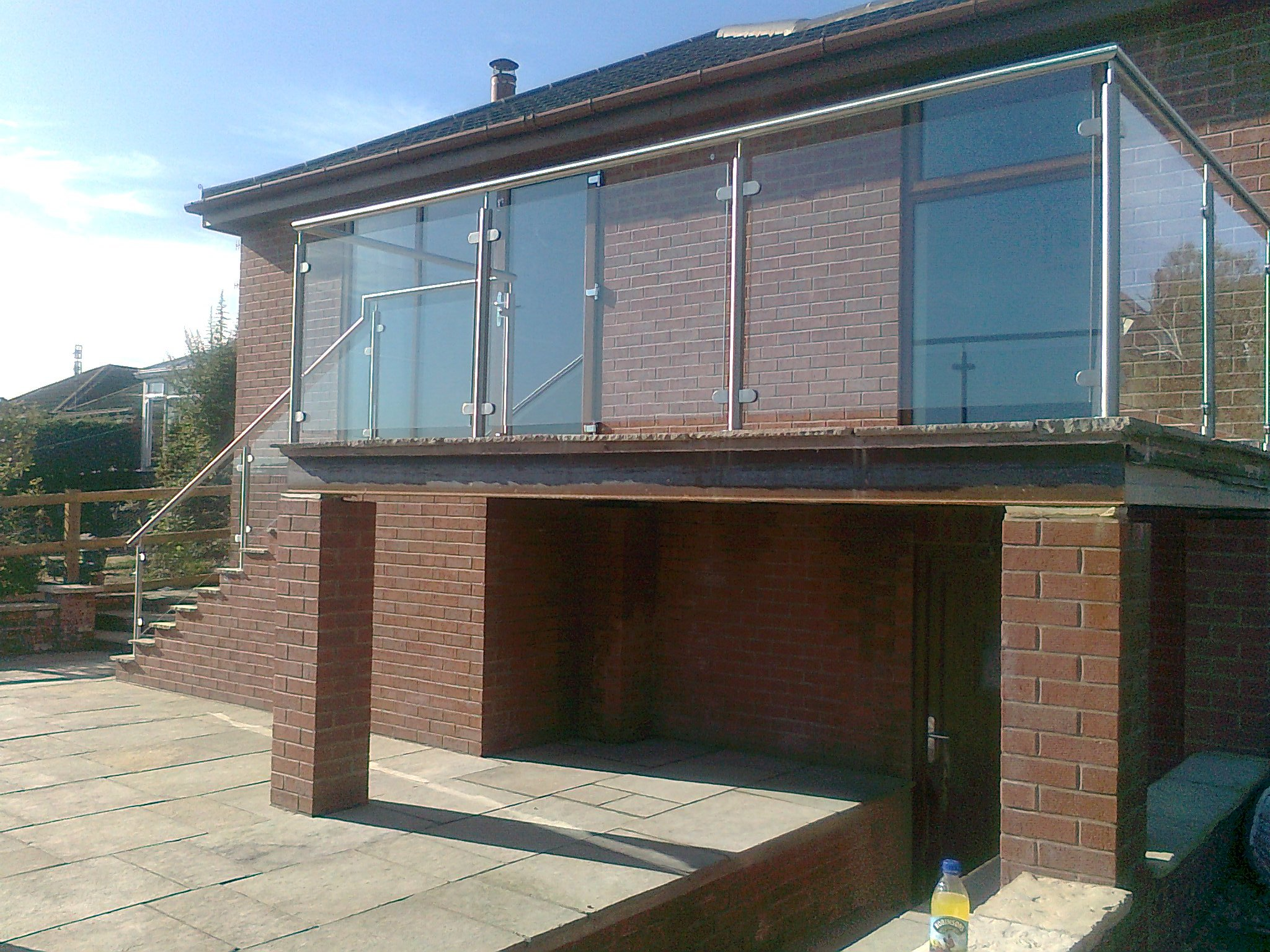 window balcony fabrication