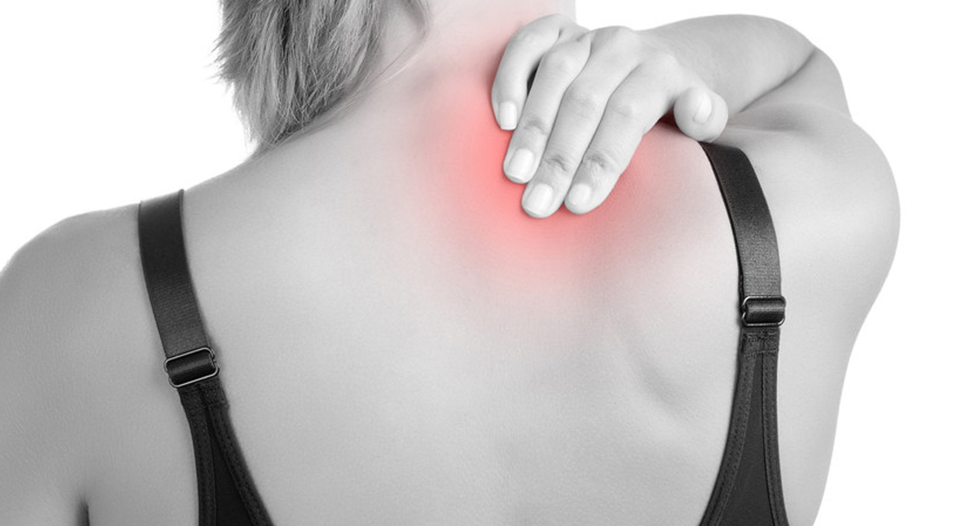 lower neck pain point