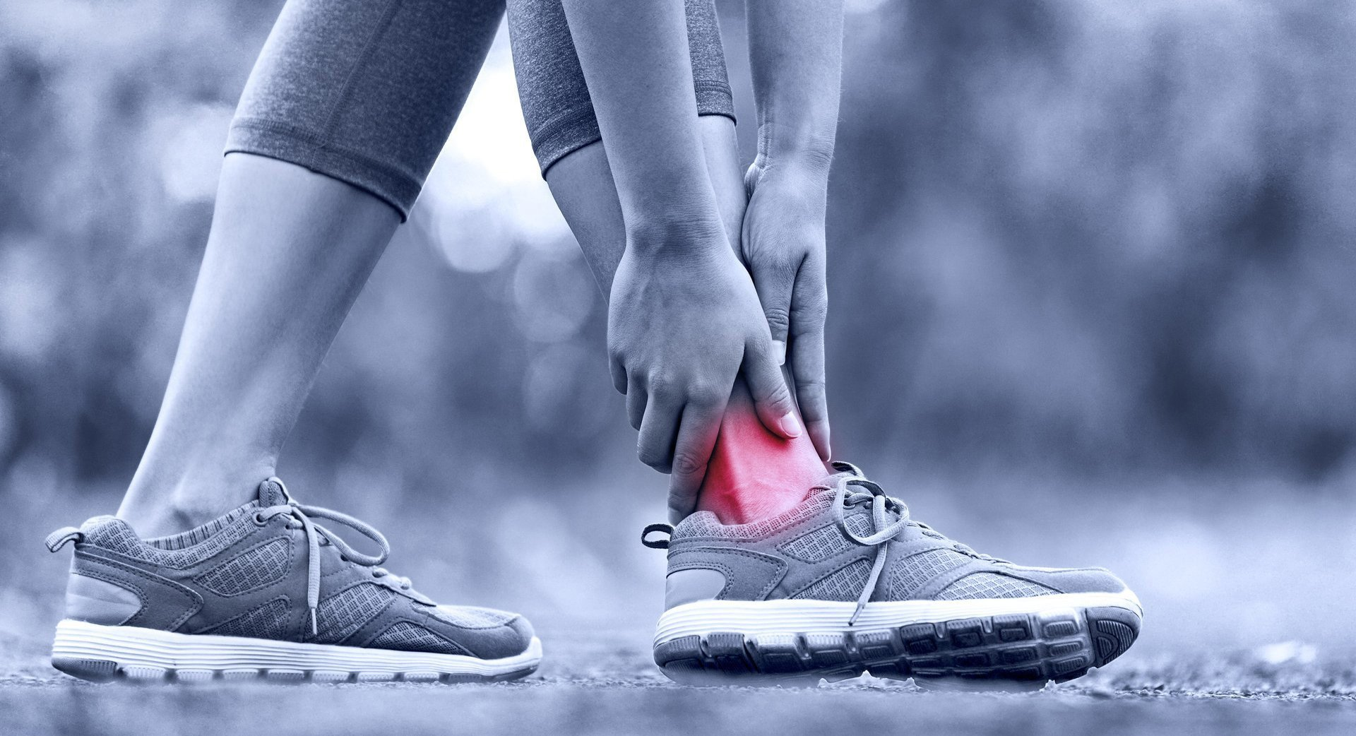 ankle pain point