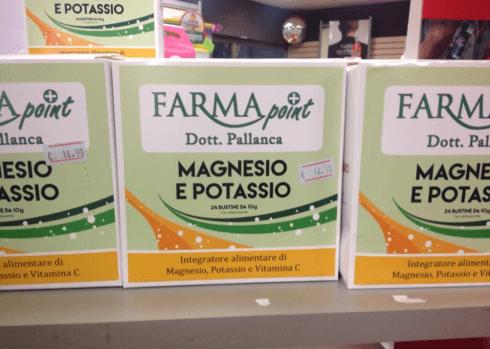 Magnesio e potassio - Farmapoint