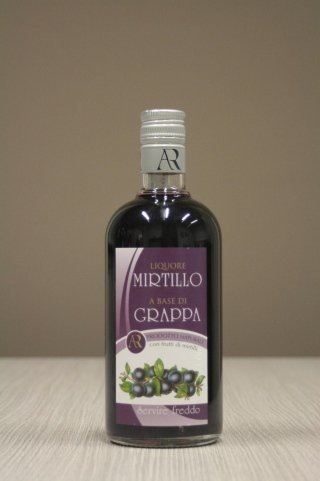 grappa al mirtillo Radaelli