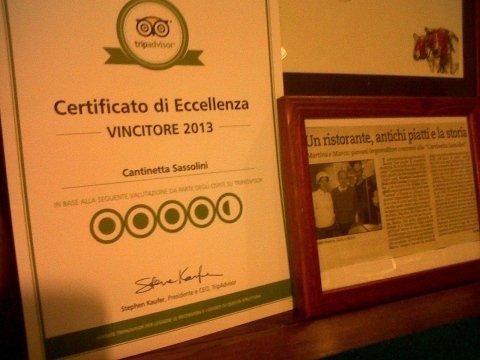 certificato eccellenza